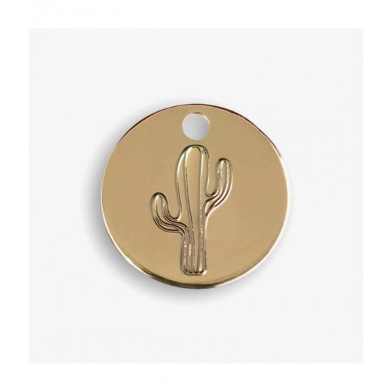 Le Bijou de Mimi - Médaille cactus or