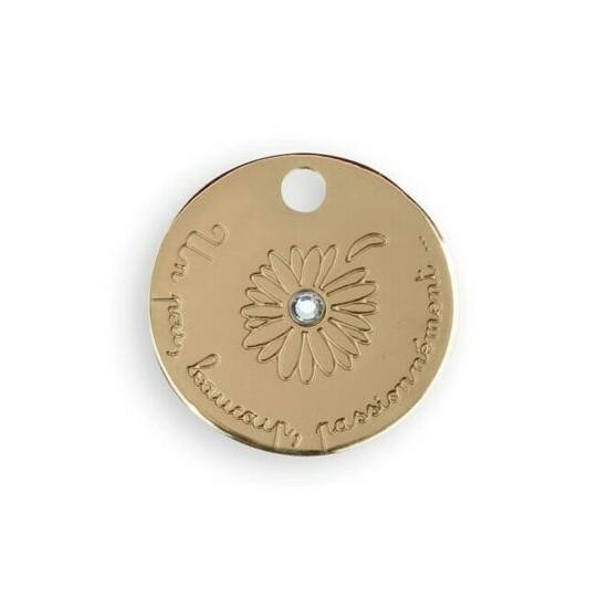 Le Bijou de Mimi - Médaille marguerite or