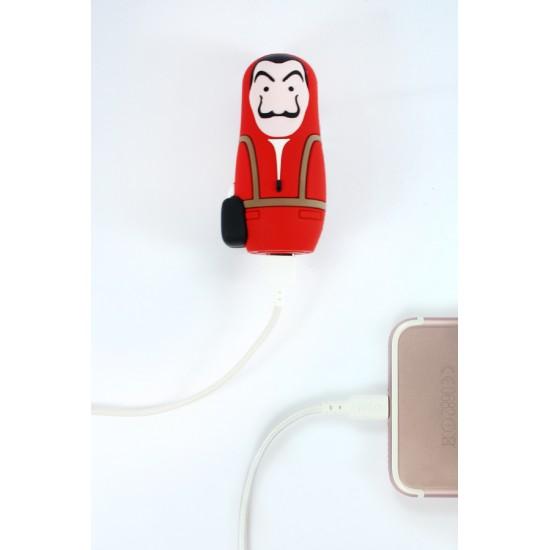Mojipower - Batterie de secours Casa de Papel