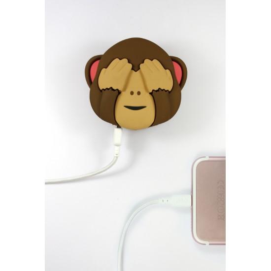 Mojipower - Batterie de secours singe