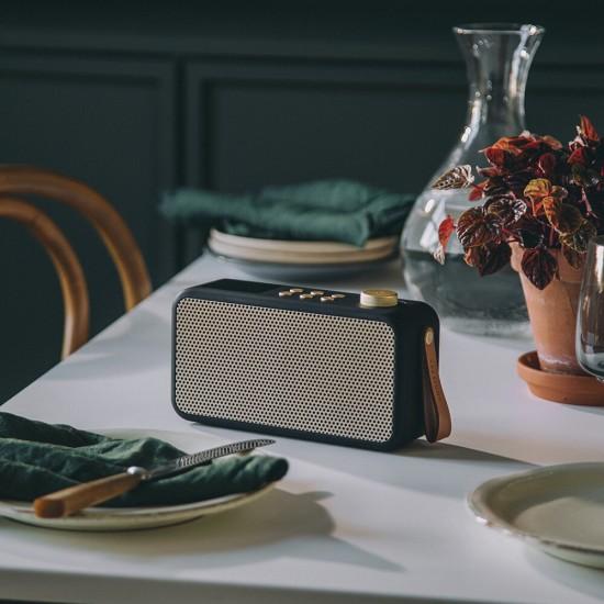 Kreafunk - Radio bluetooth noire portable aTune