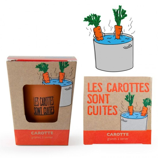 Radis et Capucine - Kit les carottes sont cuites