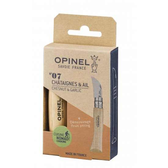 Opinel - Couteau à châtaignes et ail