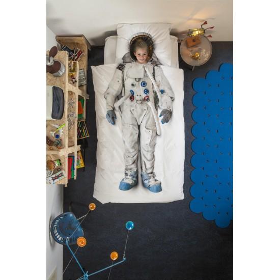 SNURK - Parure de lit astronaute