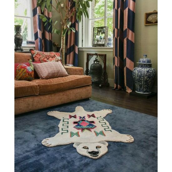 Doing Goods - Tapis Kasbah ours polaire large