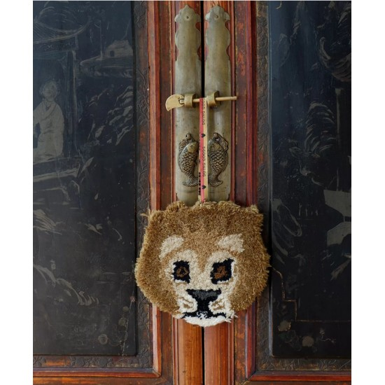 Doing Goods - Tapis Moody lion à suspendre