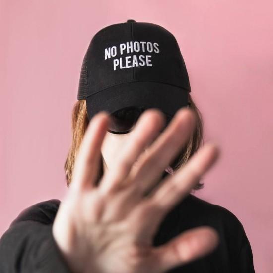 """FISURA - Casquette """" No Photos Please """""""