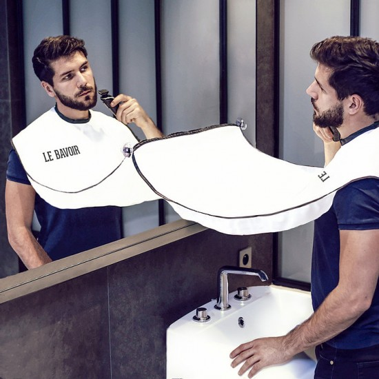Le Bavoir - Tablier à barbe