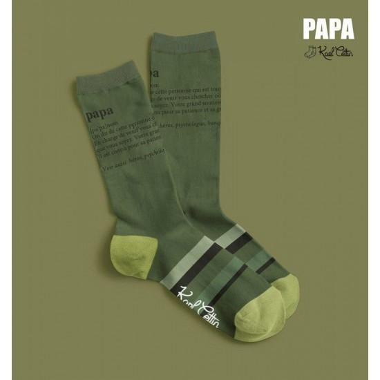FISURA - Paire de chaussettes papa