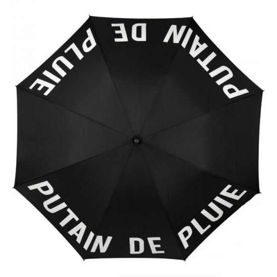 """FISURA - Parapluie noir """"Putain de pluie"""""""