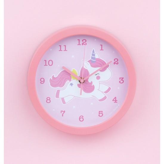 A Little Lovely - Horloge murale licorne