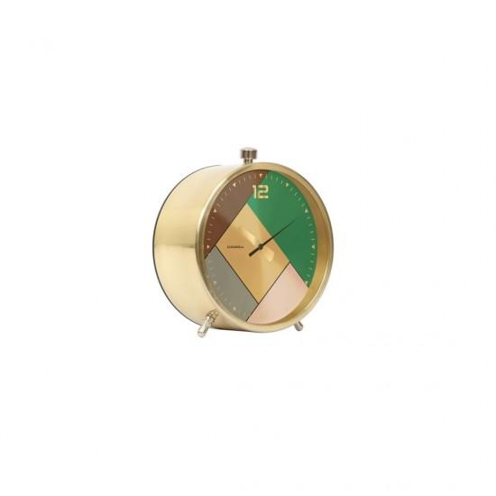 FISURA - Réveil design doré