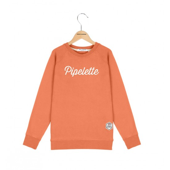 French Disorder - Sweat enfant corail Pipelette