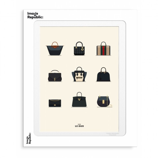 Image Republic - Tirage Le Duo Bags 30x40