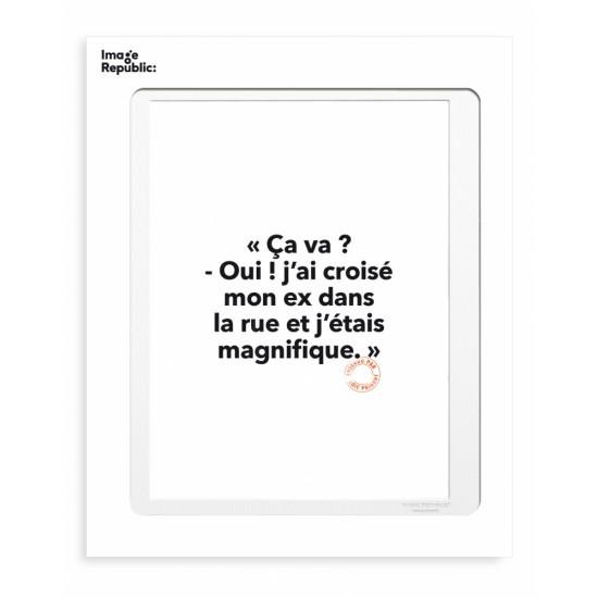 Image Republic - Tirage Loïc Prigent ça va? oui 30x40