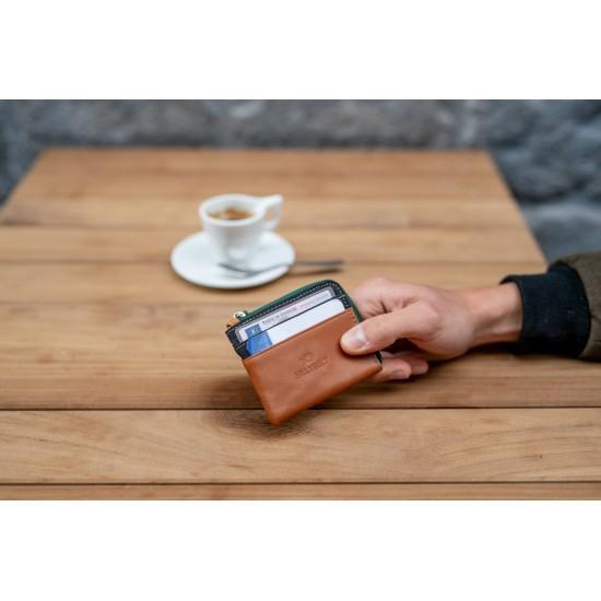 BillyBelt - Porte cartes zip noir
