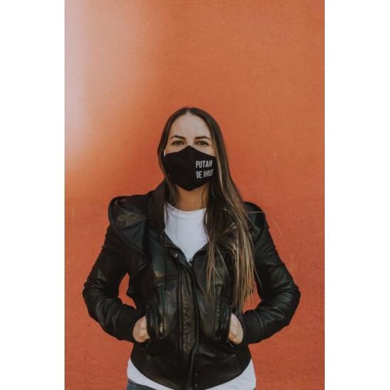 FISURA - Masque adulte Putain de virus