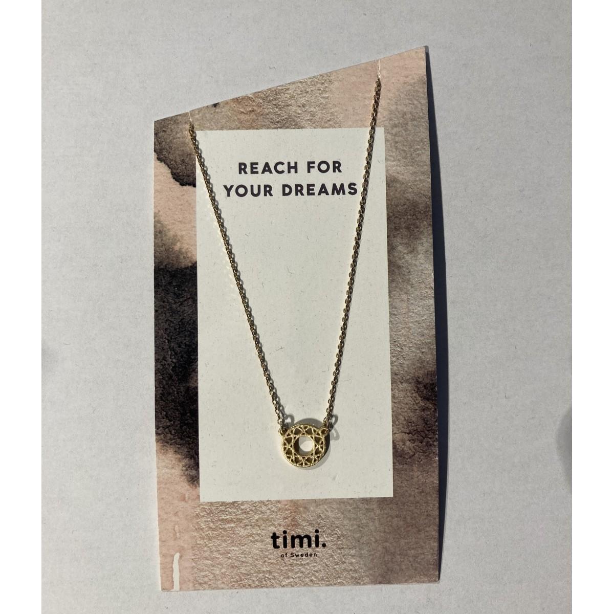 Timi - Collier avec pendentif attrape rêves