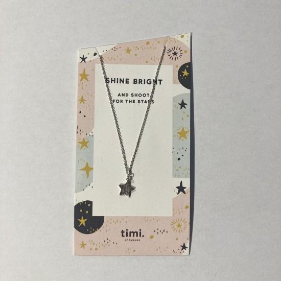 Timi - Collier avec pendentif étoile