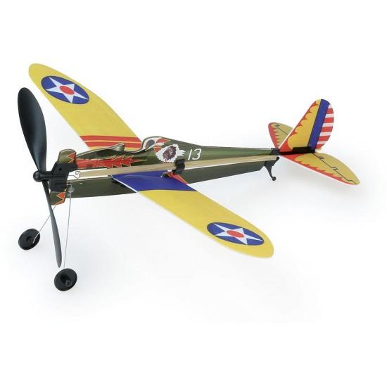 Vilac - Avion à élastique Boeing P-26