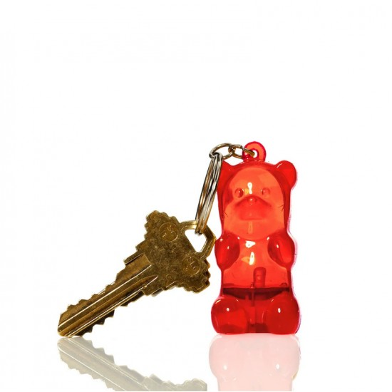 Fctry - Porte clés nounours lumineux