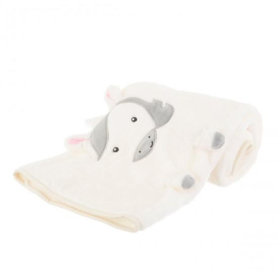 Sass & Belle - Couverture licorne pour bébé