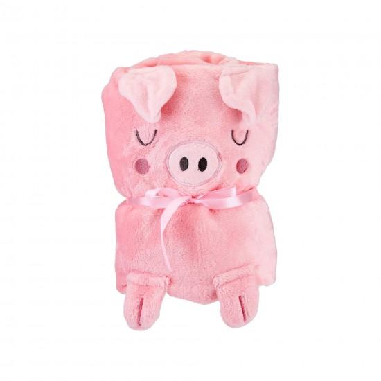 Sass & Belle - Couverture cochon pour bébé