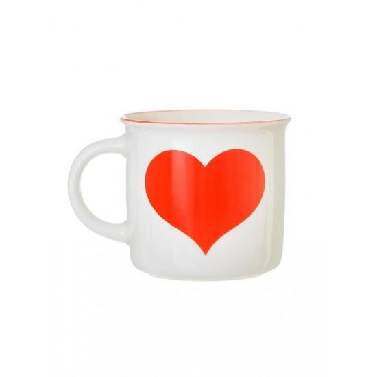Sass & Belle - Mug coeur rouge
