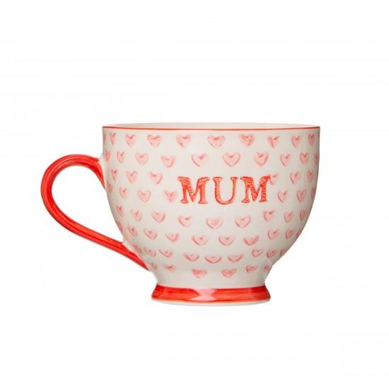 Sass & Belle - Mug Mum motifs coeurs