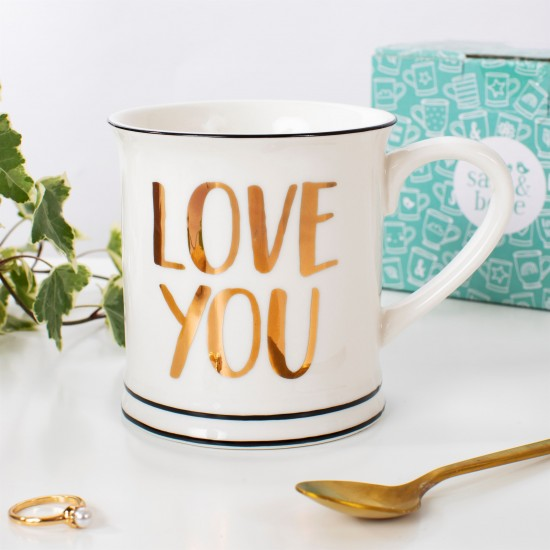 Sass & Belle - Mug Love You or