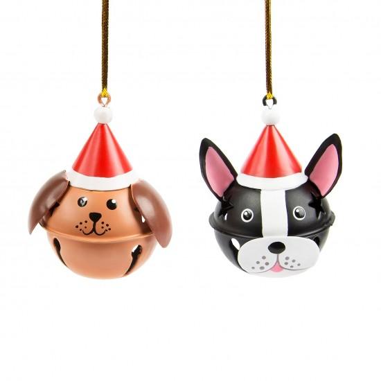 Sass & Belle - Boule de noël chien