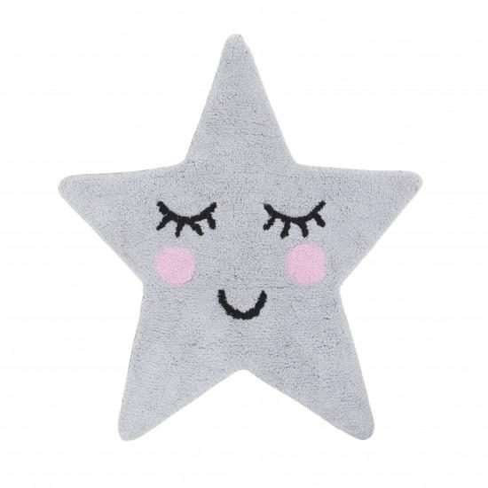 Sass & Belle - Tapis étoile grise
