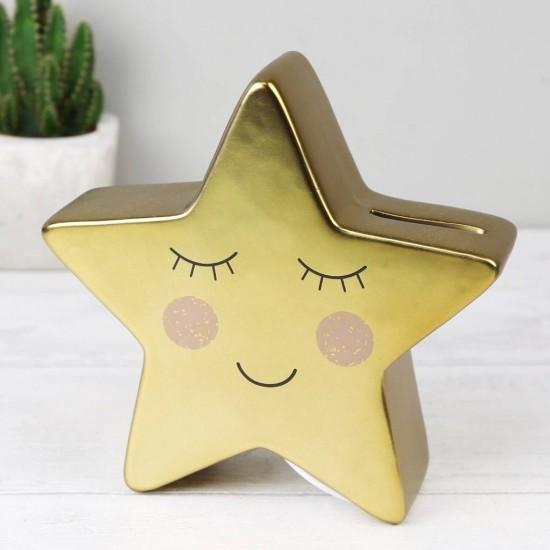 Sass & Belle - Tirelire étoile dorée