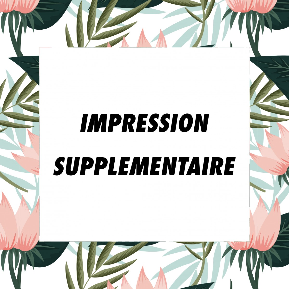 Marcel et Maurice - Impression supplémentaire full print