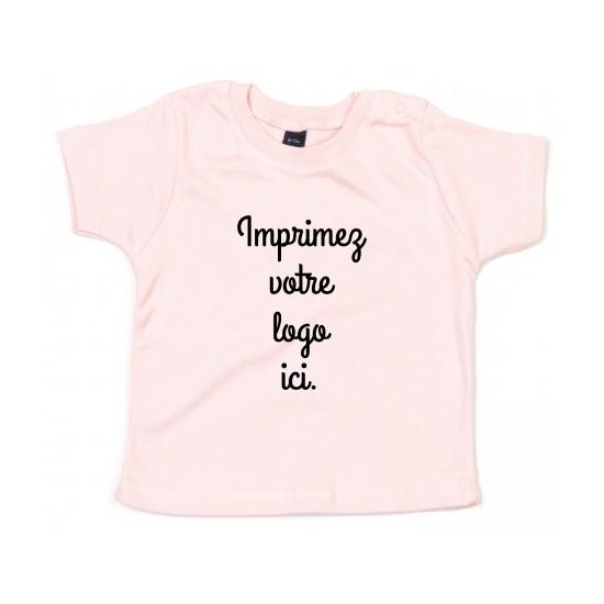 Marcel et Maurice - T-shirt bébé couleur personnalisé
