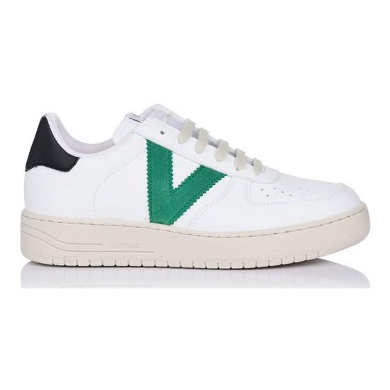 Victoria - Baskets blanches rétro homme