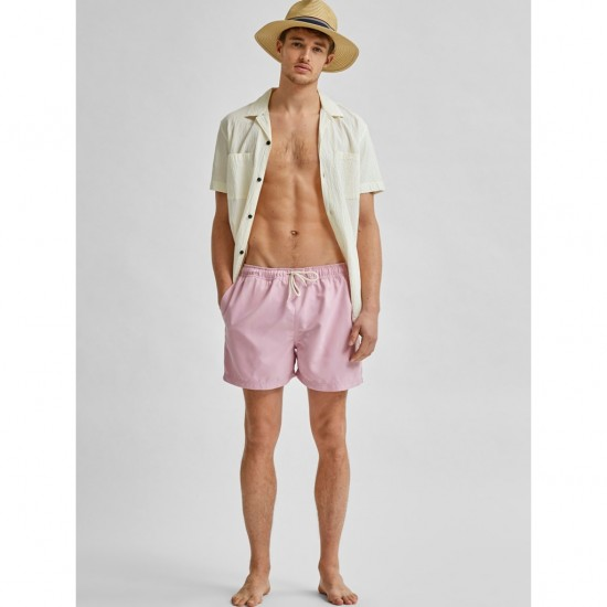 Selected homme - Short de bain lila