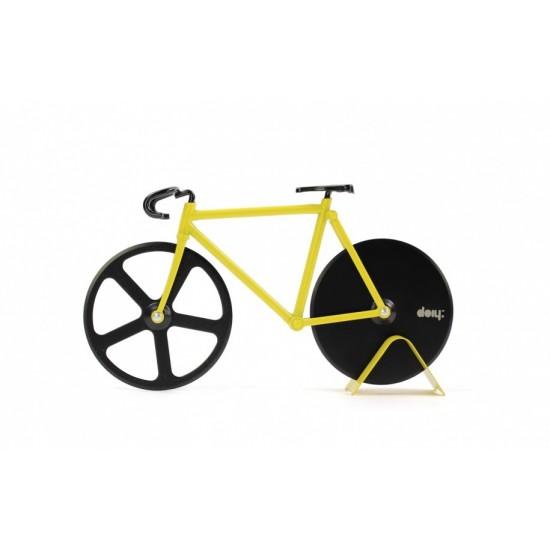DOIY - Couteau à pizza en forme de vélo fixie