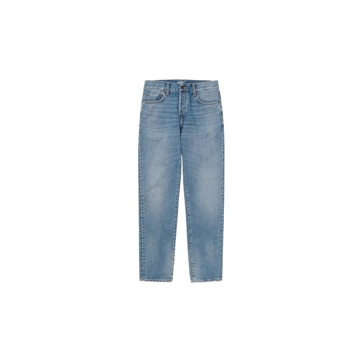 Carhartt WIP - Jeans Klondike blue worn bleached