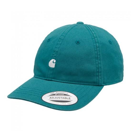 Carhartt WIP - Casquette turquoise logo carhartt