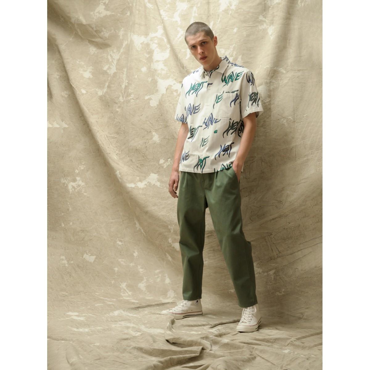Carhartt WIP - Pantalon kaki coupe droite