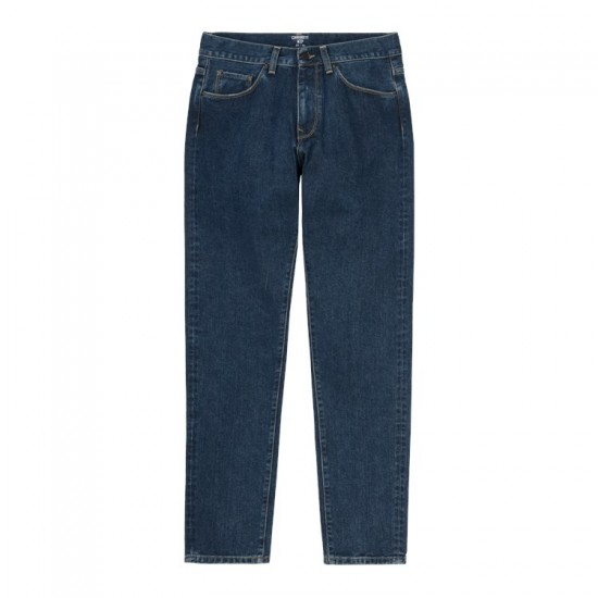 Carhartt WIP - Jeans droit bleu foncé