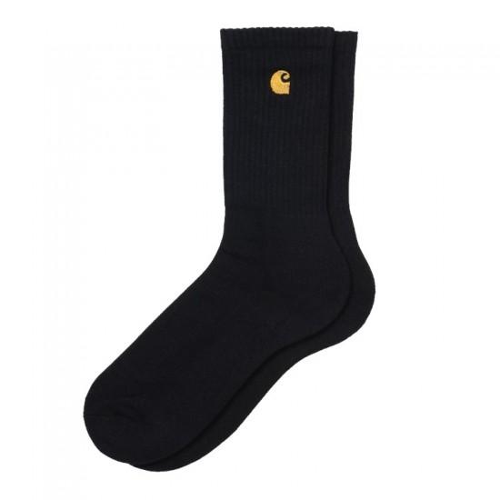 Carhartt WIP - Chaussettes noires et or