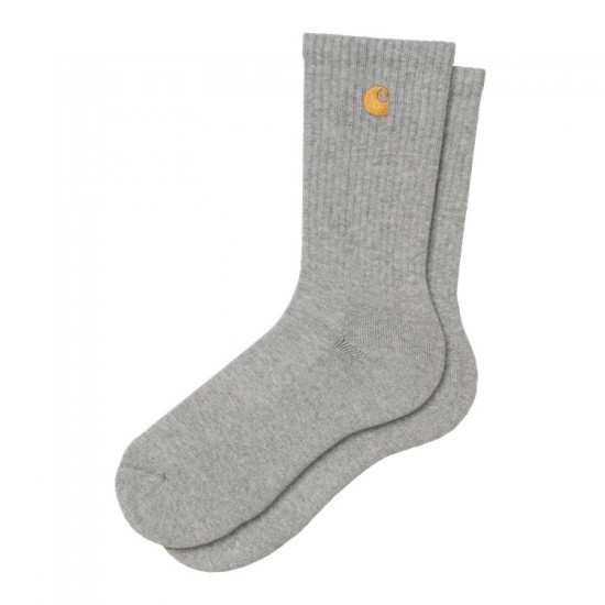 Carhartt WIP - Chaussettes grises et or