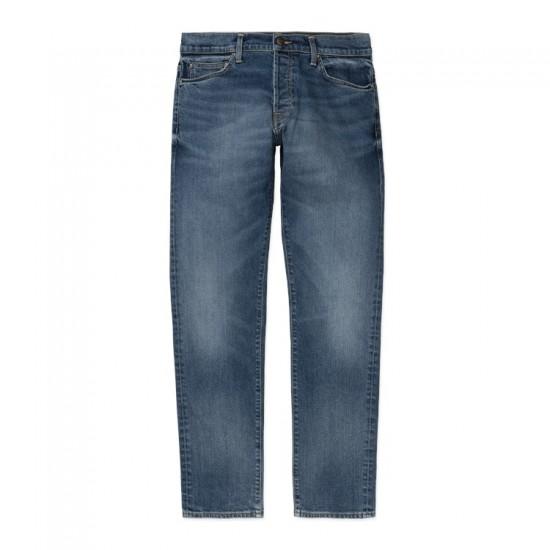 Carhartt WIP - Jeans Klondike blue mid used