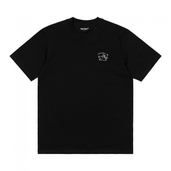 Carhartt WIP - T-shirt noir Misfortune