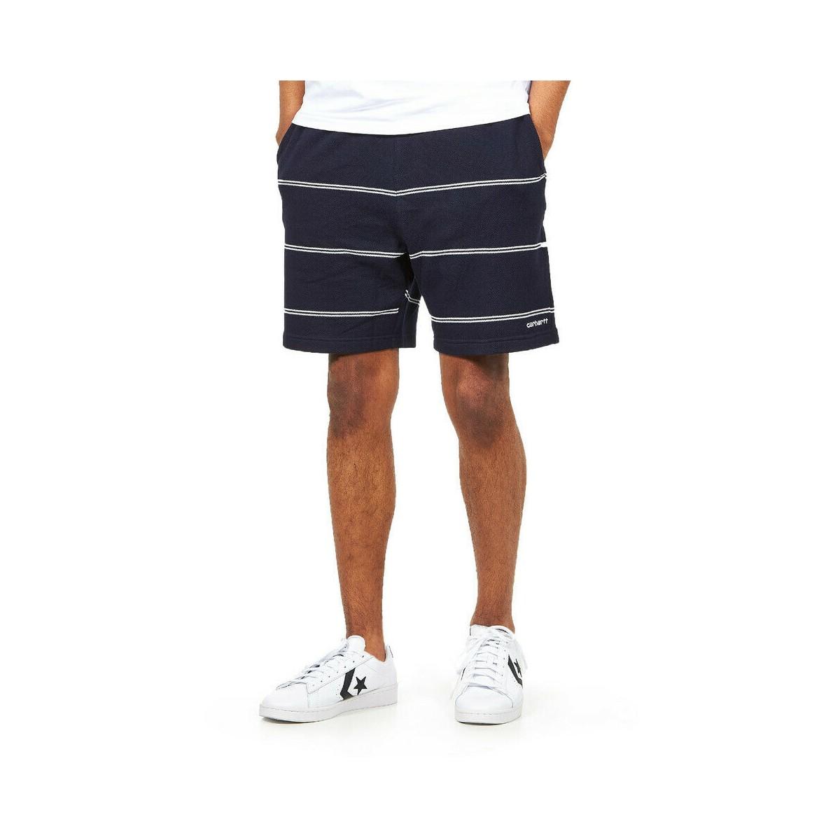 Carhartt WIP - Short jogging à rayures