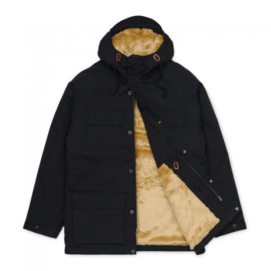 Carhartt WIP - Manteau noir avec capuche