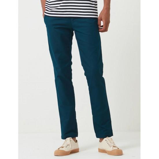 Carhartt WIP- Pantalon chino Sid Pant bleu canard