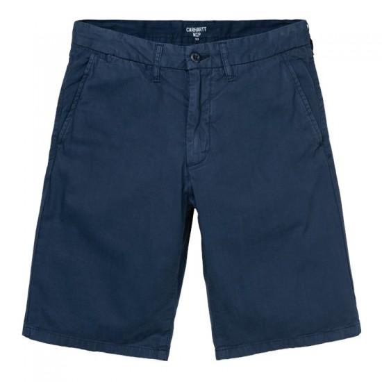 Carhartt WIP - Short chino bleu